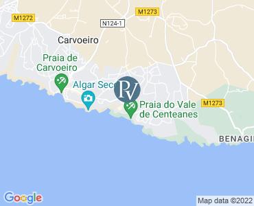 Casa Cristal Carvoeiro Bed Premier Villa In The Algarve - Portugal map carvoeiro